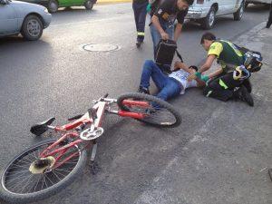 Indemnización por accidente en bicicleta,